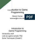 Game Prog