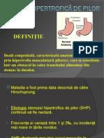 Stenoza hipertrofică de pilor