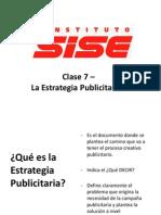 Estrategia Publicitaria- Clase 2 - SISE