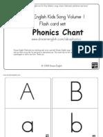 Phonics Chart for English Year 1 KSSR