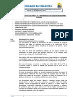 6.00 DESCRIPCIÓN DE PARTIDAS EJECUTADAS