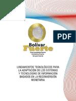 Lineamientos tecnicos BCV
