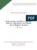 Analisis Reforma Sector Salud-SubRegion Andina 2002