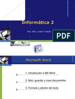 Ms Word Sesion 1