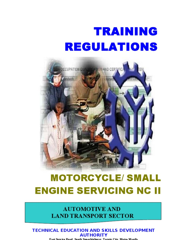 Motorcycle Small Engine Servicing Nc Ii 1 Occupational Safety Wiring Diagram Yamaha Fino And Health Competence Human Resources