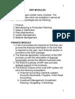 Chp 5- Erp Modules