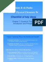 Checklist Ch 07