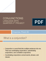 la project conjunction 8c