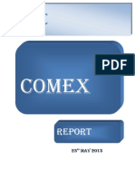 Comex-report-daily 23 May 2013