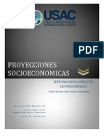 PROYECCIONES SOCIOECONOMICAS