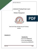 java project report
