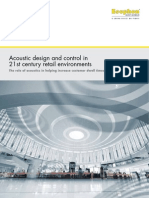 Acoustics in Retail Environments WhitePaper