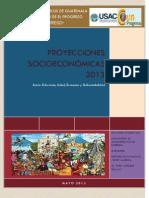 Proyecciones Socioeconómicas 2013