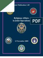 JP Religious Affairs 2009