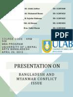 Conflict Presentration