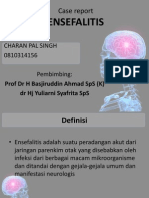 Ensefalitis Case