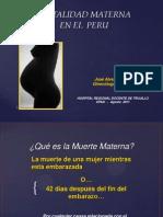 Mortalidad Materna Upao Agosto 2011