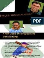 cricket match fixing