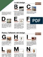 Rame Lalfabeto Del Design