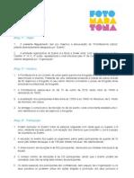 Regulamento FotoMaratona 2013
