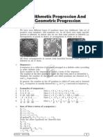 Ch. 1_Arithmetic Progression And