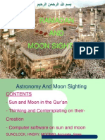 Astronomy and Moon Sighting