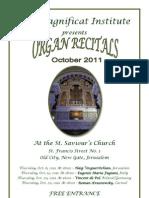 Gerusalemme - San Salvatore - Organo