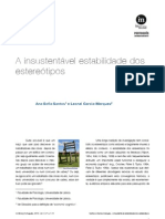 In-Mind_Português, 2010, Vol.1, Nº.4, Santos e Garcia-Marques, A insustentável estabilidade dos estereótipos