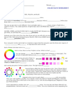 Colorfacts Worksheet