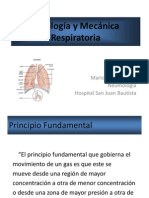 Fisiología Respiratoria SJB 2013
