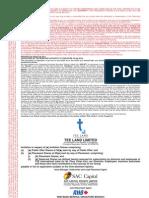 TEE Land IPO - Preliminary Prospectus (22 May 2013)