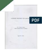 Charles Paton's a Short Report on Arakan