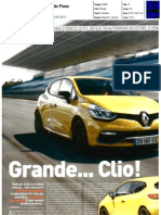 "NOVO RENAULT CLIO R.S. 200 EDC NA ""AUTO FOCO"""
