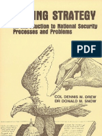 002 MAKING STRATEGY, An Introduction to National Security Processes
