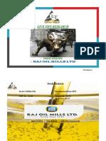 Raj Oil Mills Ltd