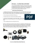 Improvised DSLR Lenses