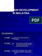 Education Development in Malaysia