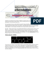 Mebendanzole Cancer
