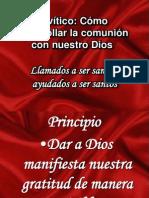 Levítico santidad practica III IBE Callao