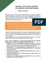 Viziunea economica a PDL. Solutiile pentru mediul de afaceri din România