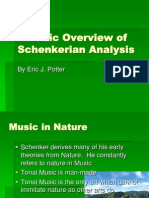A Basic Overview of Schenkerian Analysis