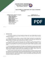 FINAL CASE STUDY of Diabetes Mellitus