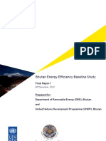 Bhutan Energy Efficiency Baseline Study Final Report 26 12 12-1