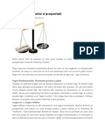 Cele 13 Legi Ale Banilor Si Prosperitatii