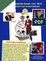 Affiche Sinterklaasvoorstelling Met Goochelen en Buikspreken Van Goochelaar Aarnoud Agricola
