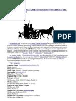 TRANSMEDIA HOLDING, FABRICANTE DE EDICIONES PIRATAS DEL VOCABULARIO CALÓ