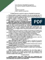 Tema 14 Apărarea şi încetarea dreptului de proprietate