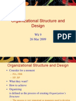 Organizational Structure and Design_Wk9_260309