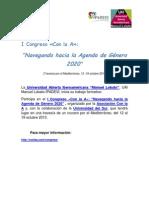 Congreso Feminismo y Diversidad Funcional (Octubre 2013)