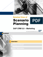 Detailed View of Scenario Planning